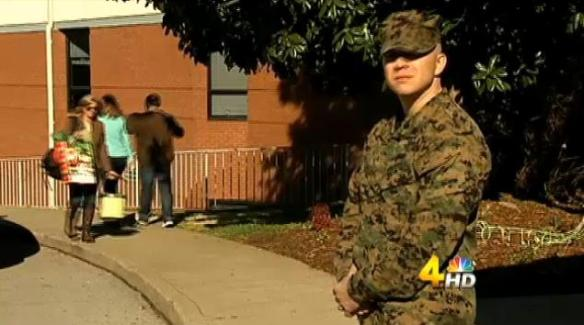 This picture of Staff Sgt Jordan Pritchard is from WSMV.com.