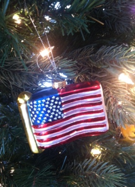 flag ornament