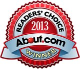 About.com 2013 Readers' Choice Winner